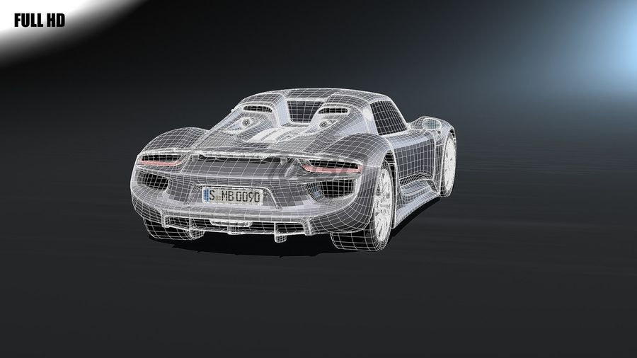 918 royalty-free 3d model - Preview no. 8