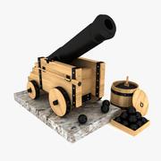 Cannon 2 3d model