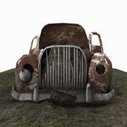 Junkyard Car 3d model