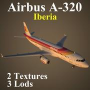 A320 IBE modelo 3d