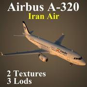 A320 IRA modelo 3d