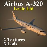 A320 ISR 3d model