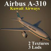 A310 KAC 3d model