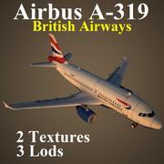 A319 BAW 3d model
