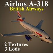 A318 BAW 3d model
