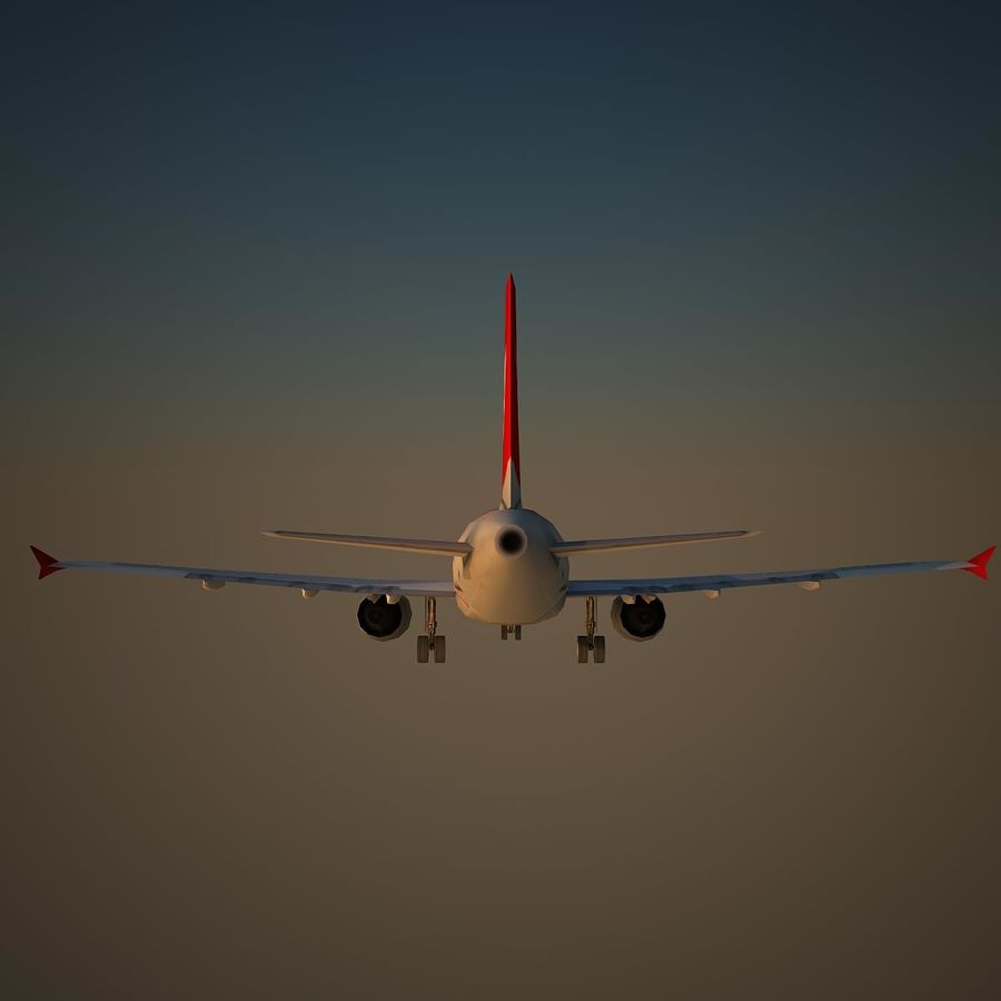A319 ABY royalty-free 3d model - Preview no. 4
