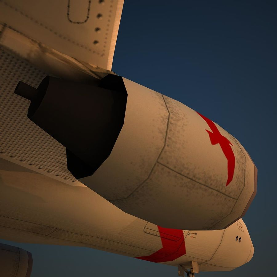 A319 ABY royalty-free 3d model - Preview no. 8