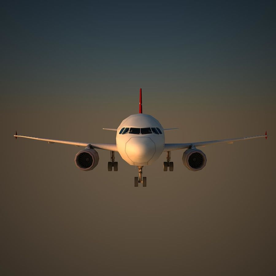 A319 ABY royalty-free 3d model - Preview no. 2