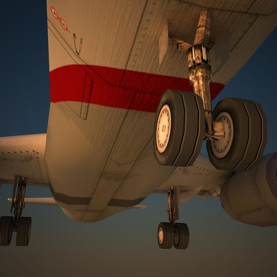 A319 ABY royalty-free 3d model - Preview no. 7