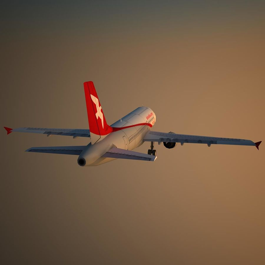 A319 ABY royalty-free 3d model - Preview no. 9