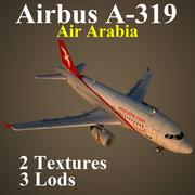 A319 ABY 3d model