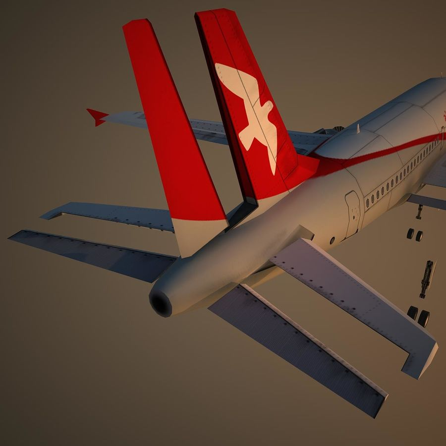 A319 ABY royalty-free 3d model - Preview no. 12