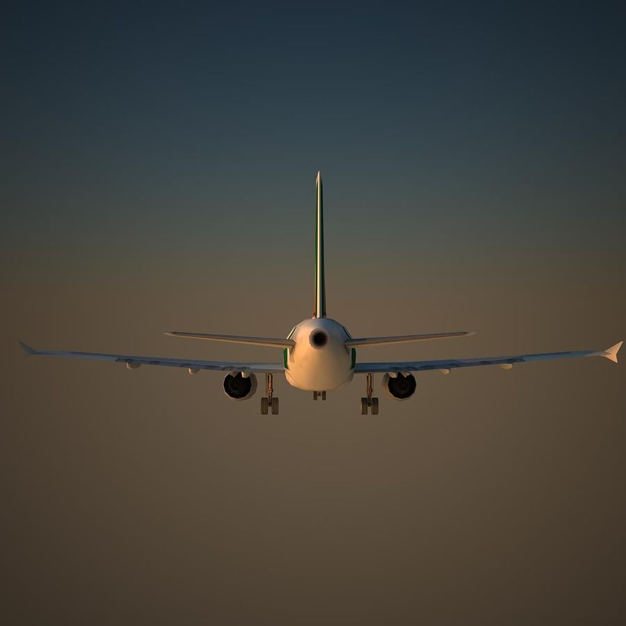 A319 AZA royalty-free 3d model - Preview no. 4