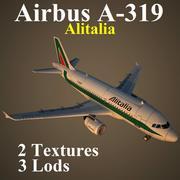 A319 AZA 3d model