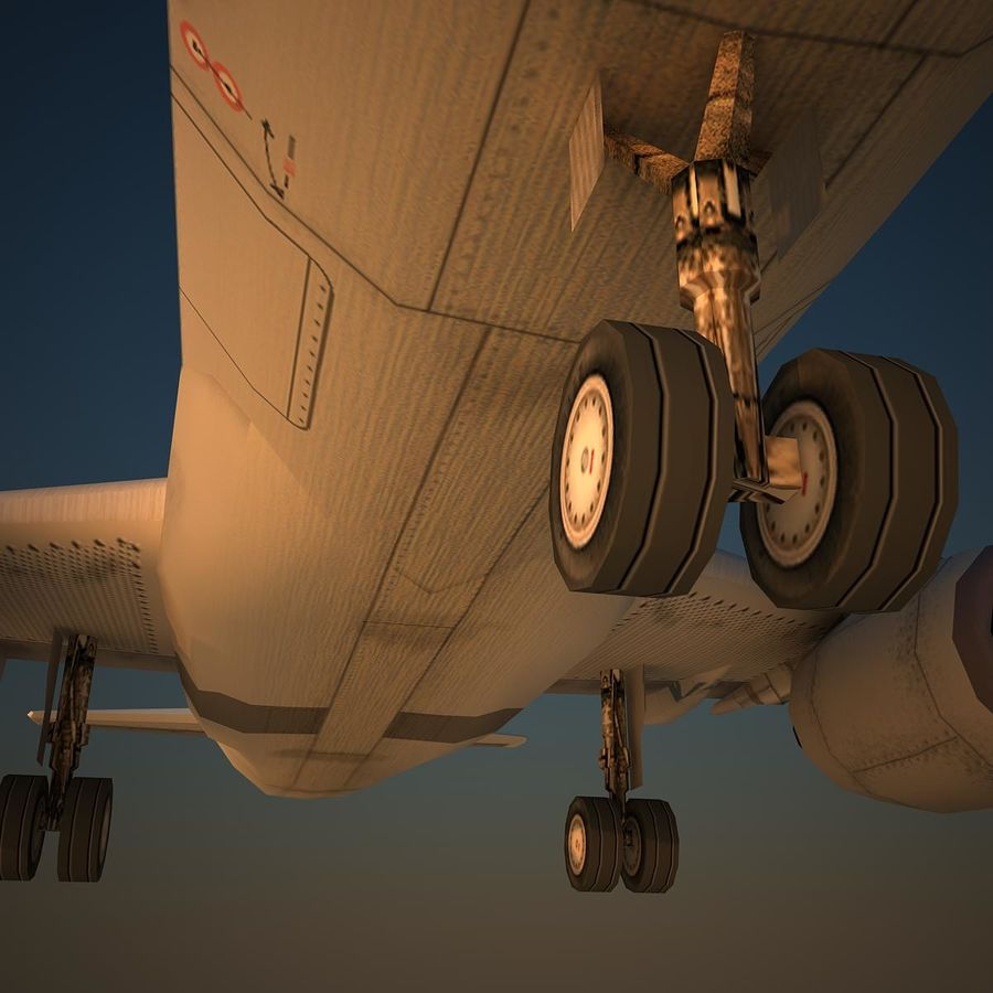 A319 CSN royalty-free 3d model - Preview no. 7