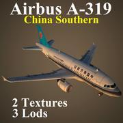 A319 CSN 3d model