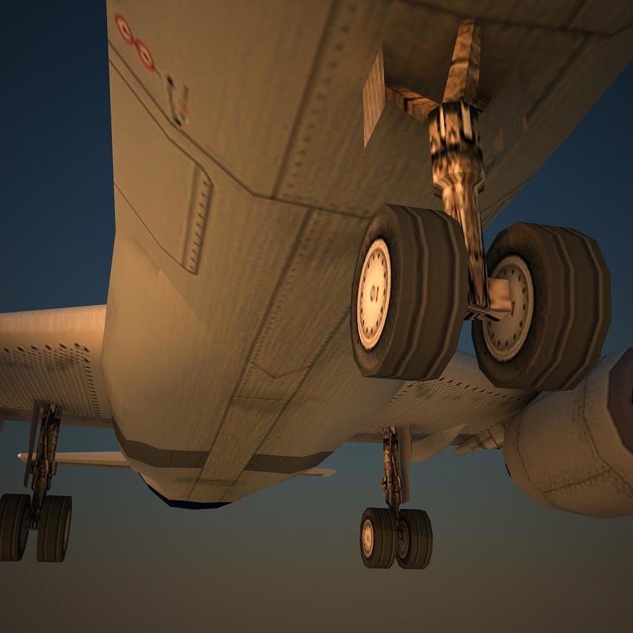 A319 DAT royalty-free 3d model - Preview no. 7