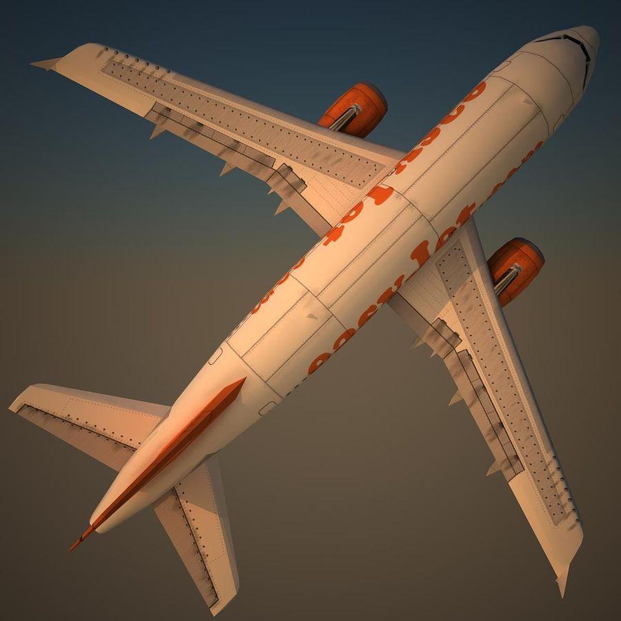 A319 EZY royalty-free 3d model - Preview no. 5