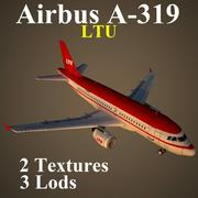 A319 LTU 3d model