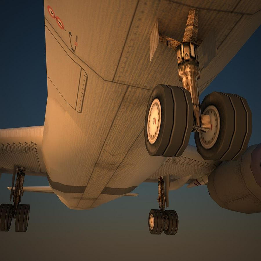 A319 QTR royalty-free 3d model - Preview no. 7