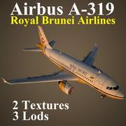 A319 RBA 3d model
