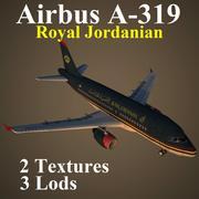 A319 RJA 3d model