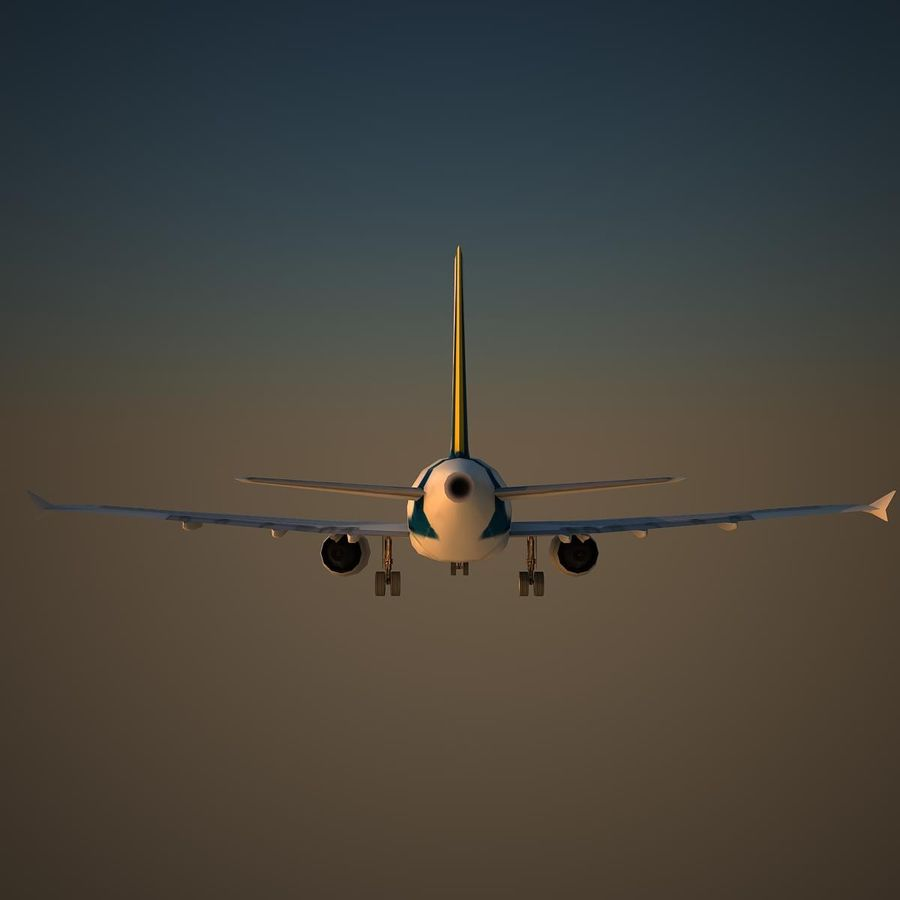 A319 RMF royalty-free 3d model - Preview no. 4