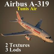 A319 TAR 3d model