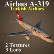 A319 THY 3d model