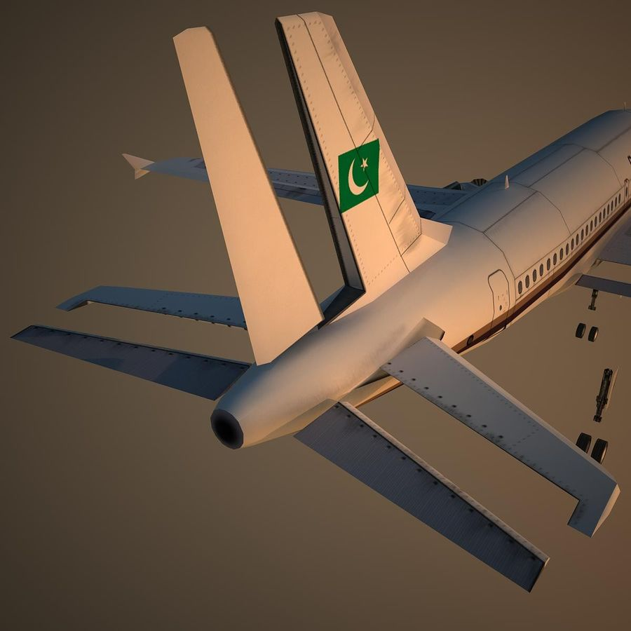 A319 VIP royalty-free 3d model - Preview no. 12