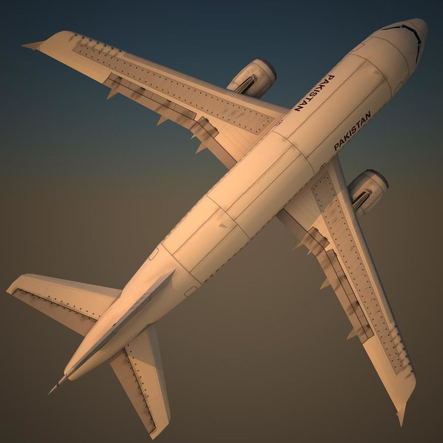 A319 VIP royalty-free 3d model - Preview no. 5