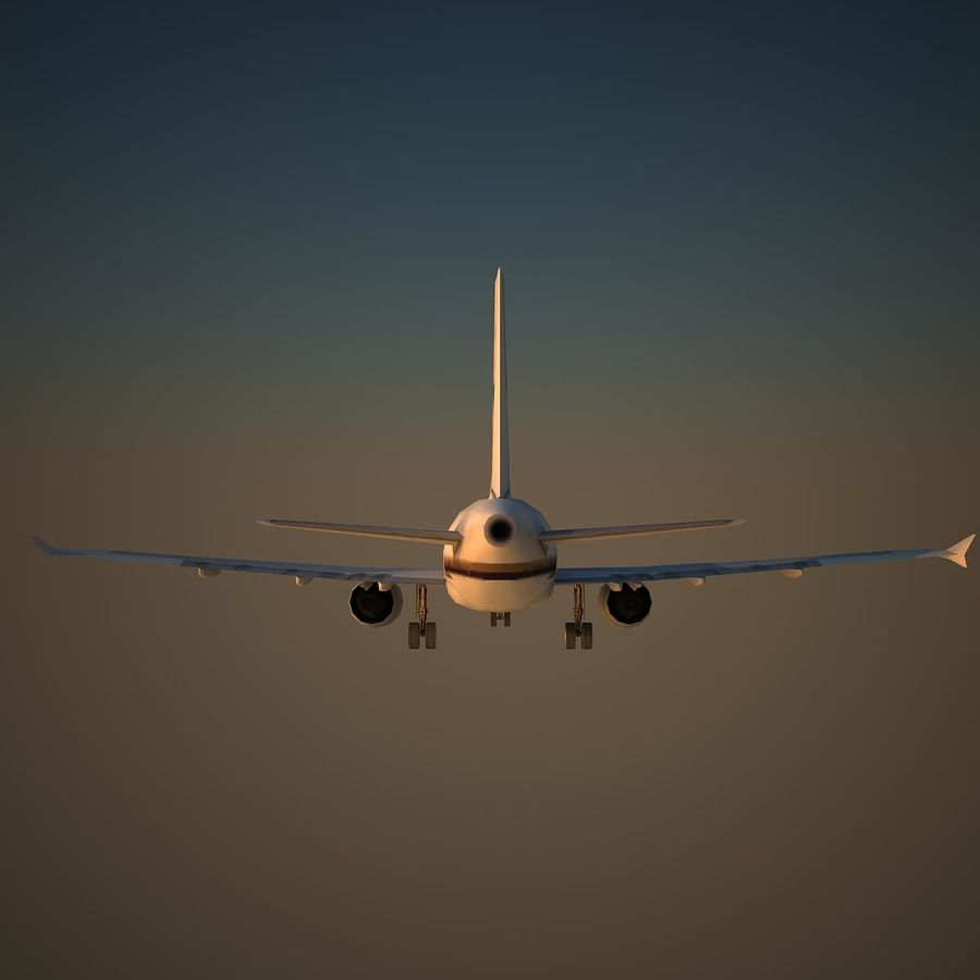A319 VIP royalty-free 3d model - Preview no. 4
