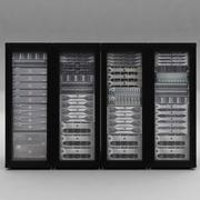 Rack server - Dell 3d model