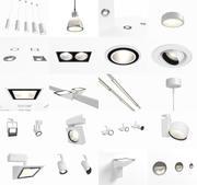 Erco для внутреннего освещения 3d model