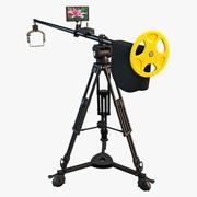 Câmera Grua Polecam 3d model