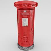 Pillar Box 3d model