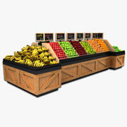 Fruit Display 3d model