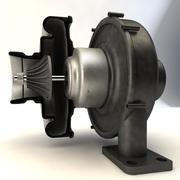 涡轮 3d model
