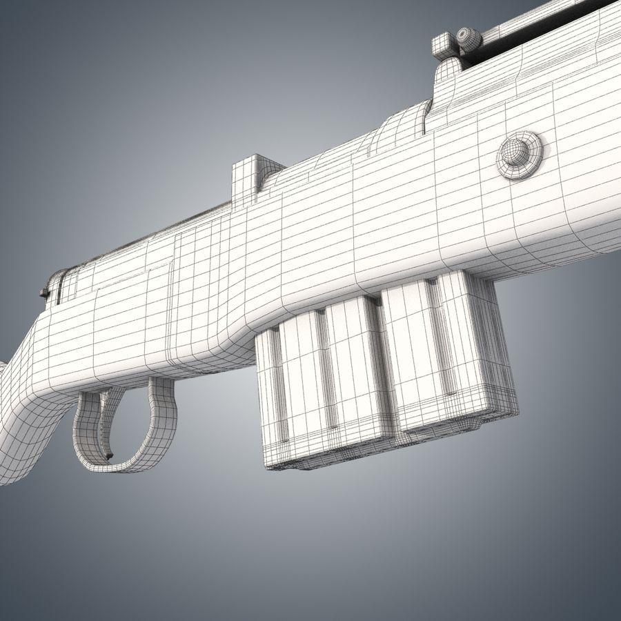 Gewehr 43 / Karabiner 43 royalty-free 3d model - Preview no. 11