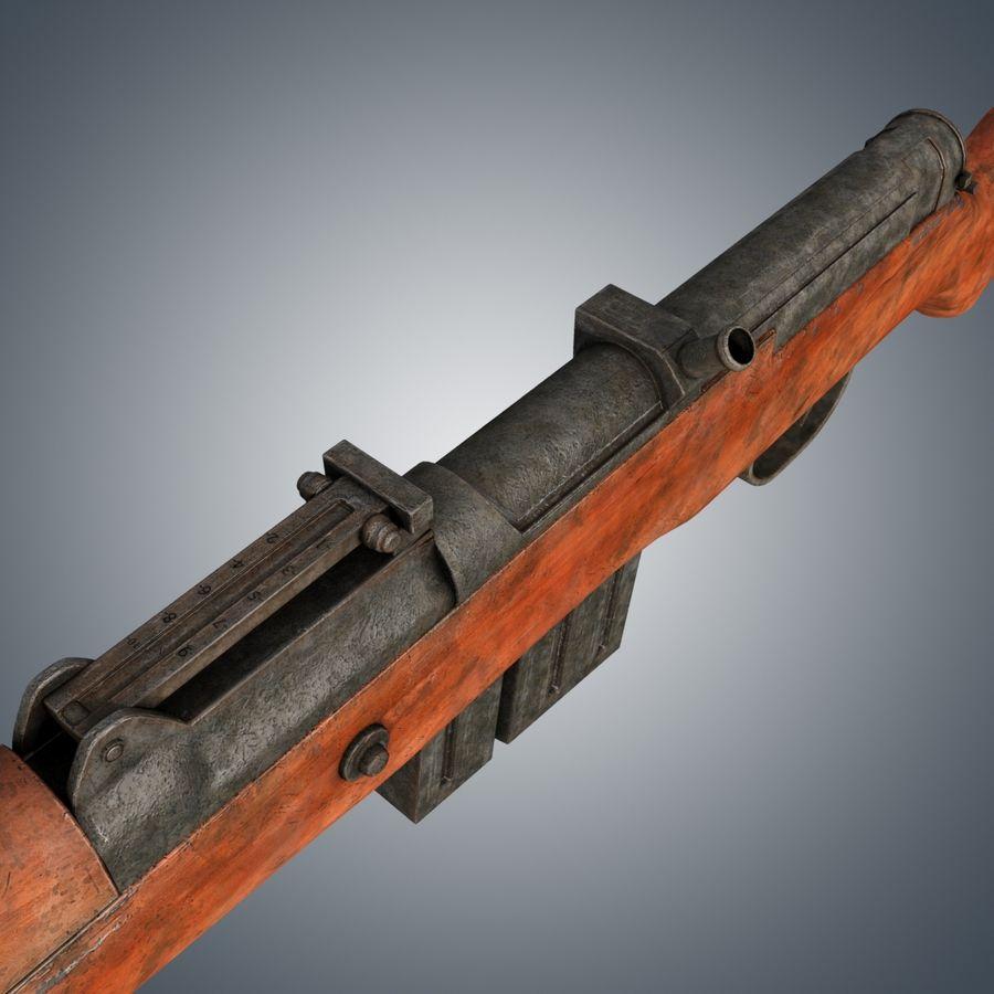 Gewehr 43 / Karabiner 43 royalty-free 3d model - Preview no. 5