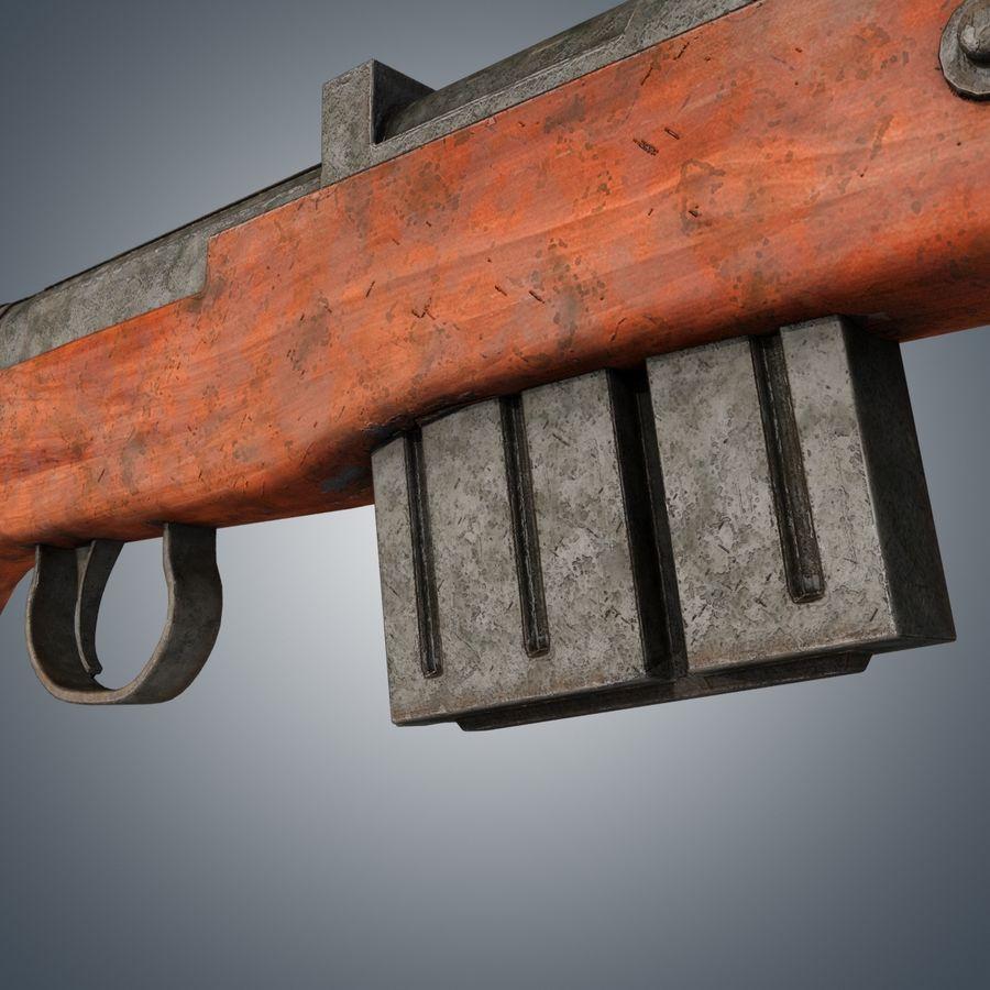 Gewehr 43 / Karabiner 43 royalty-free 3d model - Preview no. 6