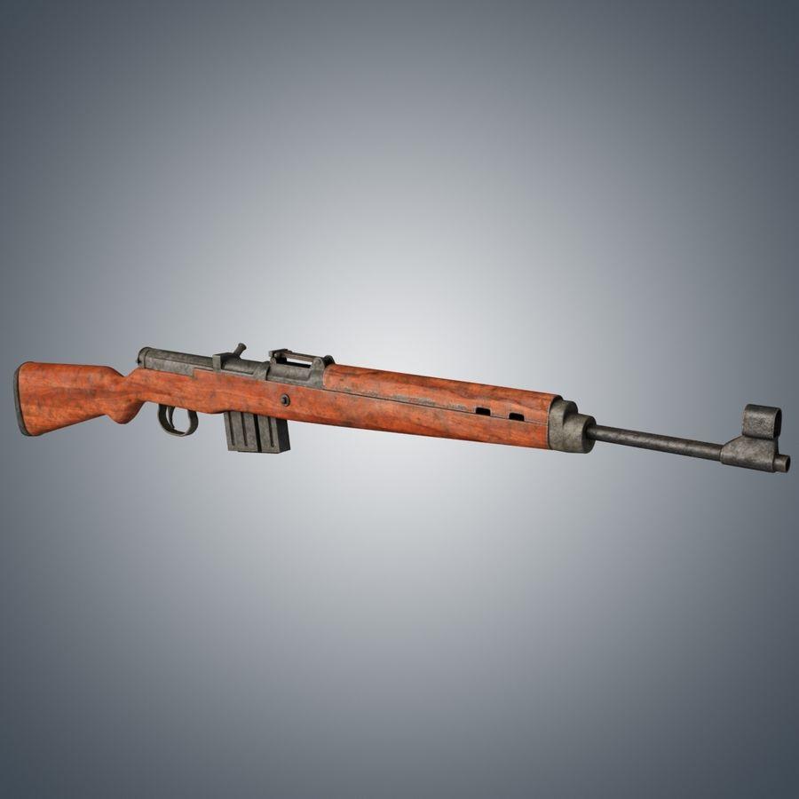 Gewehr 43 / Karabiner 43 royalty-free 3d model - Preview no. 2