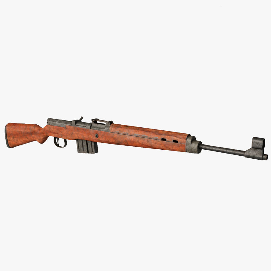 Gewehr 43 / Karabiner 43 royalty-free 3d model - Preview no. 1