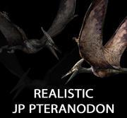 Jurassic Park - Pteranodon 3d model