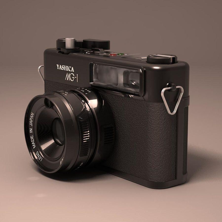Macchina fotografica analogica royalty-free 3d model - Preview no. 11