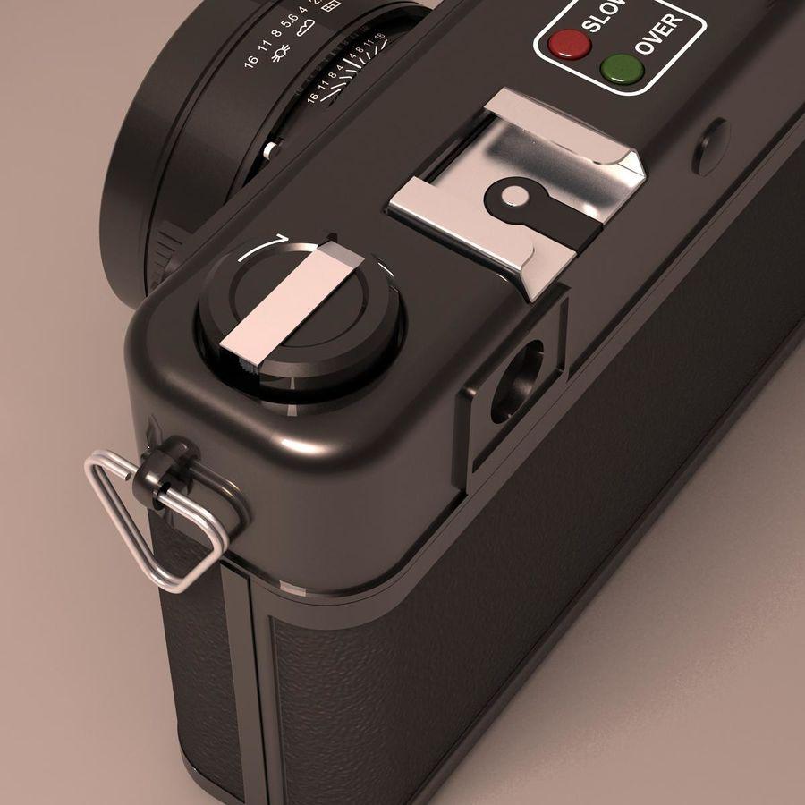 Macchina fotografica analogica royalty-free 3d model - Preview no. 8