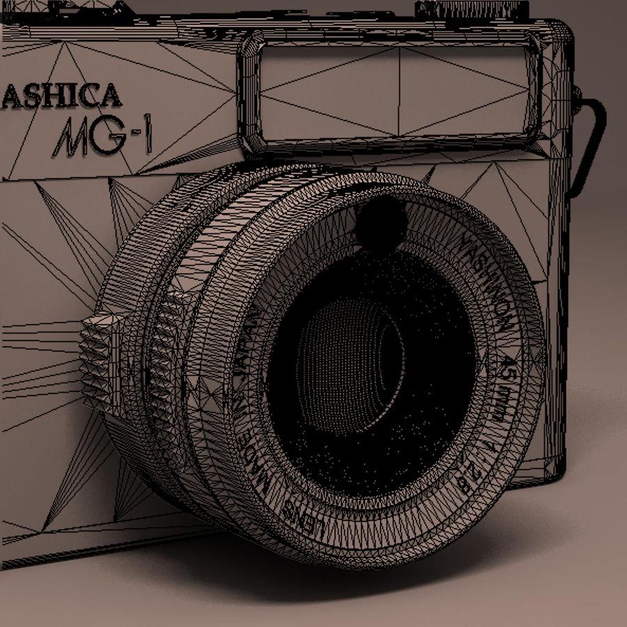 Macchina fotografica analogica royalty-free 3d model - Preview no. 15