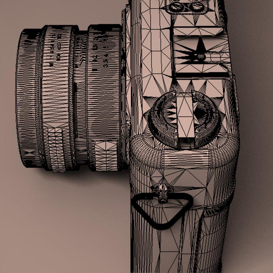 Macchina fotografica analogica royalty-free 3d model - Preview no. 20