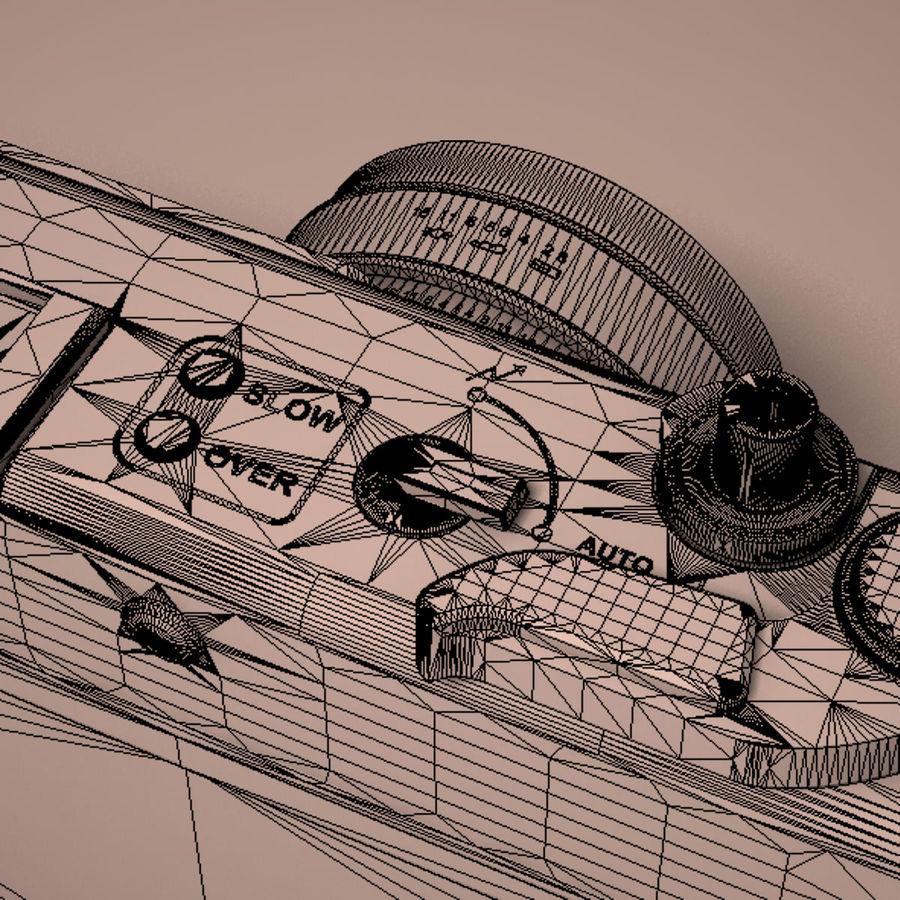 Macchina fotografica analogica royalty-free 3d model - Preview no. 25