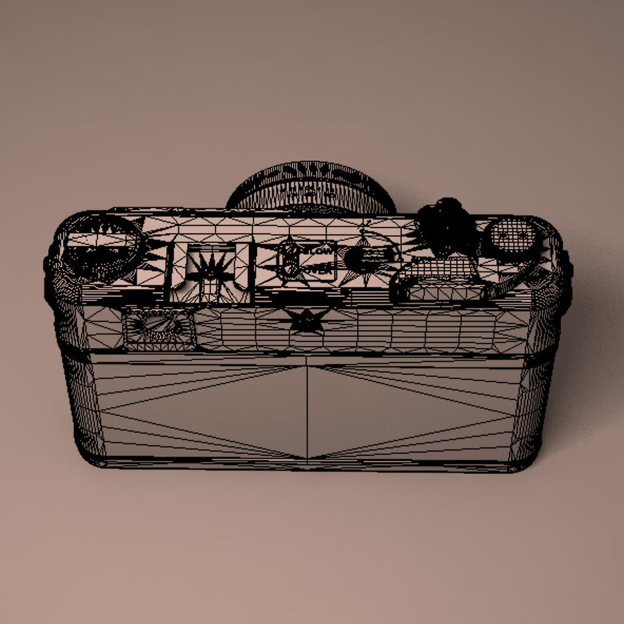 Macchina fotografica analogica royalty-free 3d model - Preview no. 18